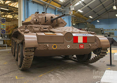 Cruiser Tank Mark V In Bovington, Uk Print by Ivan Batinic