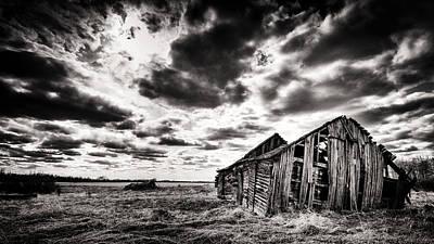 Alberta Prairie Landscape Photograph - Crumbling Prairie by Ian MacDonald