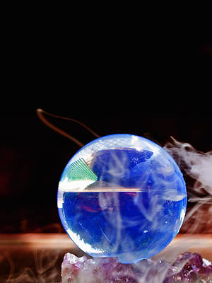 Esp Photograph - Crystal Ball by Jim DeLillo