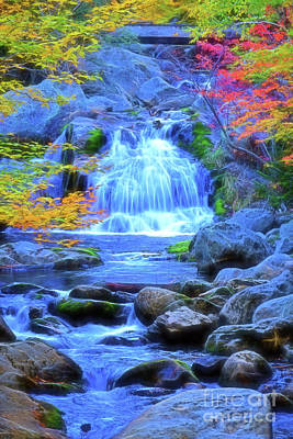 Photograph - Crystal Cascade Falls by Patti Whitten