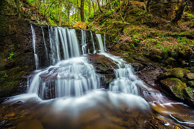 Waterfall Photograph - Crystal Clear. by Daniel Kay