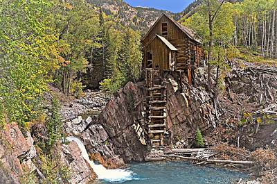 Photograph - Crystal Mill 5 by Marty Koch
