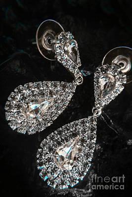 Semi-precious Photograph - Crystal Rhinestone Jewellery by Jorgo Photography - Wall Art Gallery