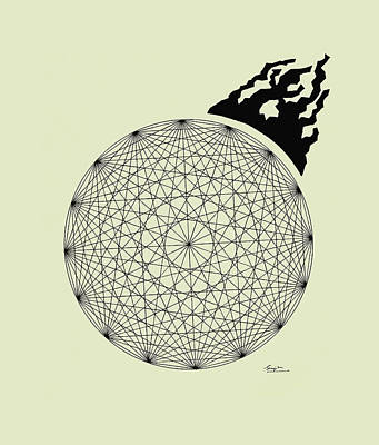 Crystalline Print by Sreejith V