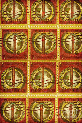 Mature Mixed Media - Cuba Stamp by Brian Drake - Printscapes
