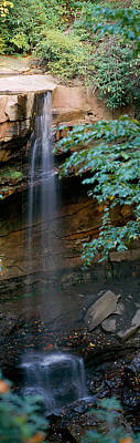 Pa State Parks Photograph - Cucumber Falls Ohiopyle State Park by Panoramic Images