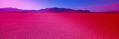 Cuddeback Dry Lake, Mojave Desert Print by Panoramic Images