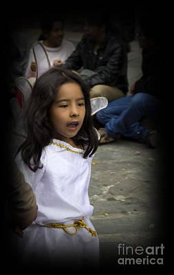 Cuenca Kids 655 Print by Al Bourassa