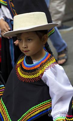 Earrings Photograph - Cuenca Kids 717 by Al Bourassa