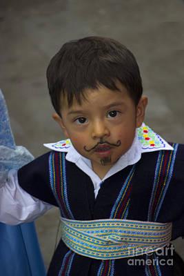 Cuenca Kids 720 Print by Al Bourassa