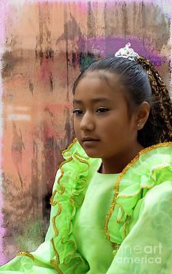 Earrings Photograph - Cuenca Kids 801 by Al Bourassa