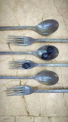 Blueberry Digital Art - Culinary I by Cynthia Decker