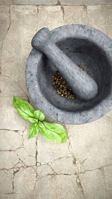 Blueberry Digital Art - Culinary IIi by Cynthia Decker