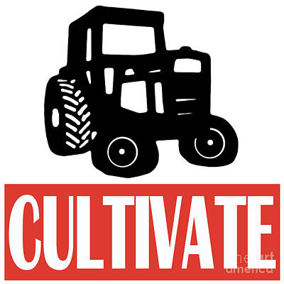 Tracktor Photograph - Cultivate by Edward Fielding