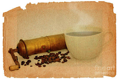 Cup Of Coffee Print by Michal Boubin
