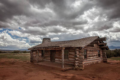 Keef Photograph - Curly's Cabin 1 by Diana Powell