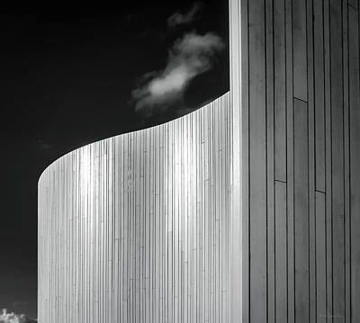 Greyscale Photograph - Curve Four by Wim Lanclus