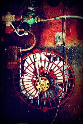 Curved Fan Print by Dana  Oliver
