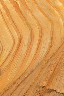 Curves In Sandstone Print by Tim Grams