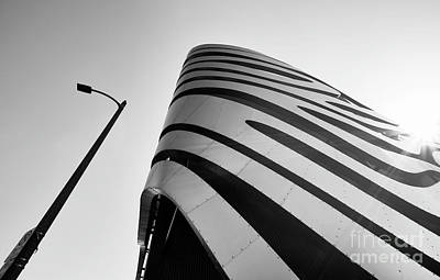 Photograph - Curvy Architecture Detail by Jerome Obille