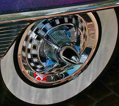 Purple Car Photograph - Custom Roulette by Gwyn Newcombe