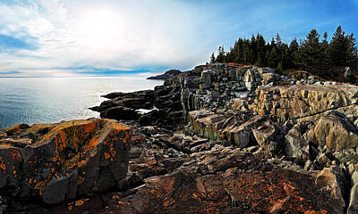 Coastal Maine Photograph - Cutler Coast Stillness by Bill Caldwell -        ABeautifulSky Photography