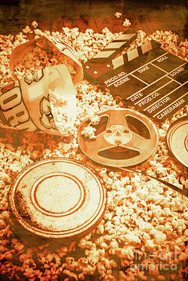 Cutting A Scene Of Vintage Film Print by Jorgo Photography - Wall Art Gallery
