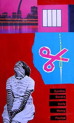 Mixed Media - Cynthia...sandra... by Adam Kissel