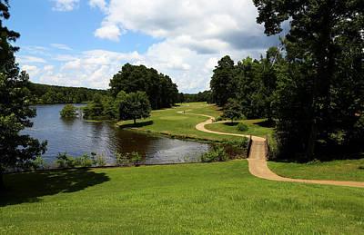 Cypress Bend Golf Resort 1 Print by Judy Vincent