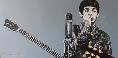 Paul Mccartney Drawing - D-note by Eric Dee