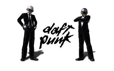 Daft Punk - 132 Print by Jovemini ART