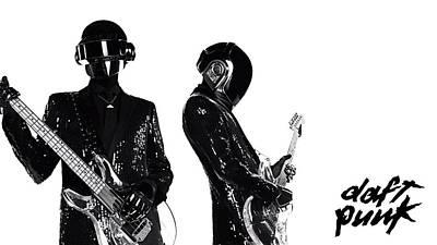 Daft Punk - 400 Print by Jovemini ART