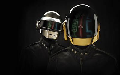 Daft Punk - 639 Print by Jovemini ART