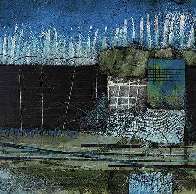 Olive Mixed Media - Daily Commitment by Laura Lein-Svencner