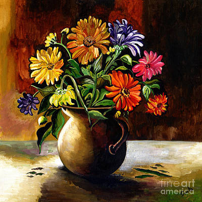 Painting - Daisies From My Garden by Sweta Prasad