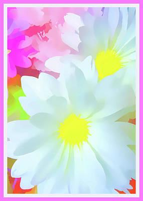 Daisy Poster Print by Susan Lafleur