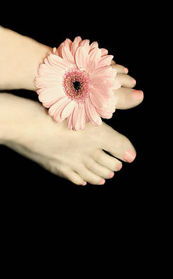 Daisy Toes Print by Diana Angstadt