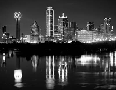 Dallas Photograph - Dallas Black Tie Skyline 2015 by Rospotte Photography
