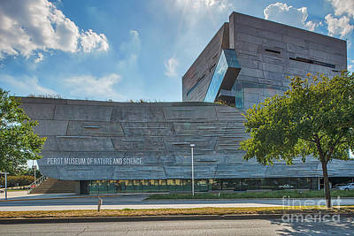 Dallas Perot Museum Print by Tod and Cynthia Grubbs
