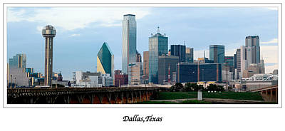 Dallas Photograph - Dallas Skyline September 2010 by Rospotte Photography