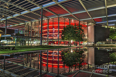 Dallas Winspear Opera House Print by Tod and Cynthia Grubbs