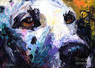 Dalmation Painting - Dalmatian Dog Painting by Svetlana Novikova