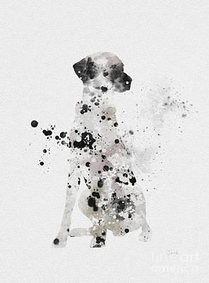 Adorable Mixed Media - Dalmatian by Rebecca Jenkins