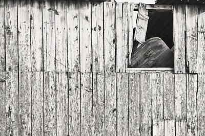 Slums Photograph - Damaged Hut by Tom Gowanlock