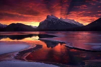 Damian Photograph - Damian Trevor - Beautiful The Beginning Morning Landscape by Damian Trevor