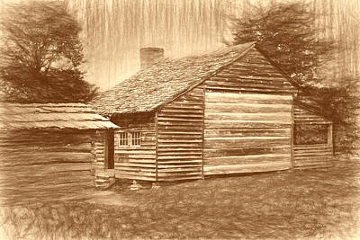 Dan Lawson Place - Cade's Cove Print by Barry Jones