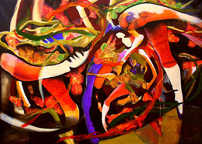 Dance Frenzy Original by Georg Douglas