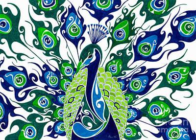 Filigree Painting - Dance In The Rain.. by Anushree Santhosh