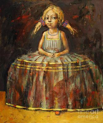 Shadow Dancing Painting - Dance Recital by Michal Kwarciak