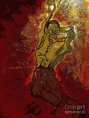 Alvin Ailey Mixed Media - Dancer by Cara Jean Brown